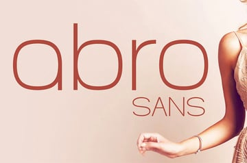 Abro Font Rounded Letters