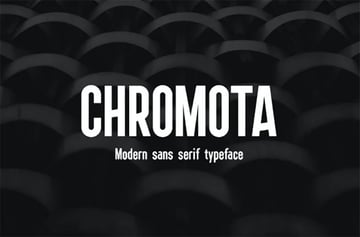 Chromota Rounded Font Sans Serif