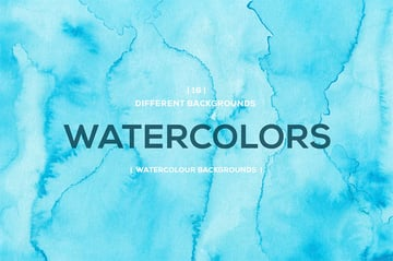 Cool Watercolor Background