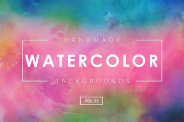 Colourful Watercolor Backgrounds