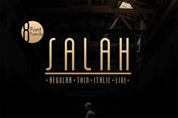 Salah Clean Sans Serif Font