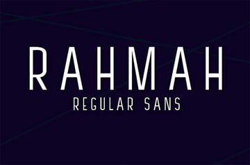 Rahman Narrow Font Sans Serif