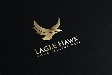 Black Gold Logo Design Template