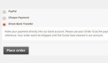 Front end payment gateways in new order