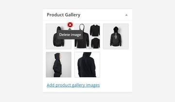 Delete image option