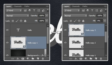 Create and Rename the Smart Objects