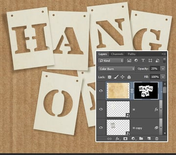 Texture Layer Blend Mode and Opacity