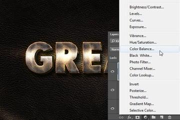 Add Color Balance Adjustment Layer