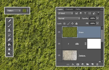 Create and Fill the Grass Layer