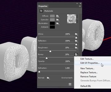 Edit UV Properties