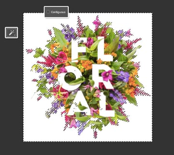 Select the Flowers Background
