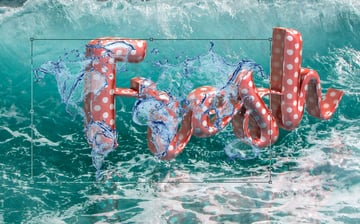Add a Water Splash Image