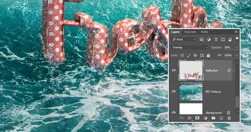 Reduce the Reflections Opacity