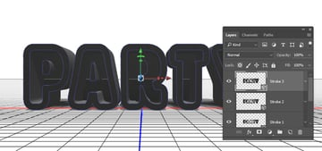 Convert to 3D Layers