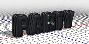 Repositioned Stroke Meshes