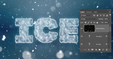 Add the Snow Texture
