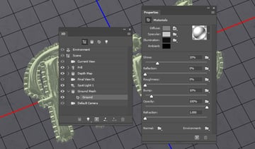 Ground Material Settings