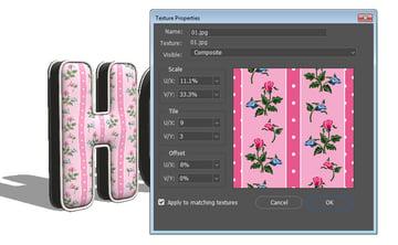 Edit UV Properties Settings