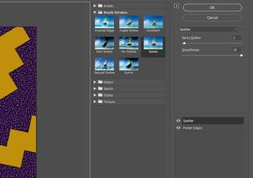 Filter Gallery Settings