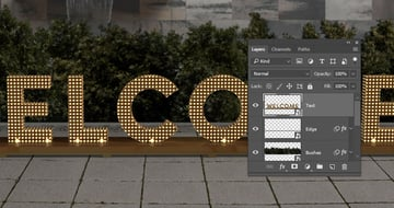 Render and Convert to a Smart Object