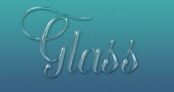 Glass Layer Style Text Effect