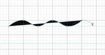 Create Alternating Peaks and Troughs