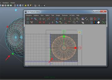 UV Texture Editor window
