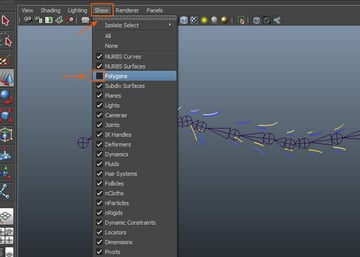 Show  Polygons