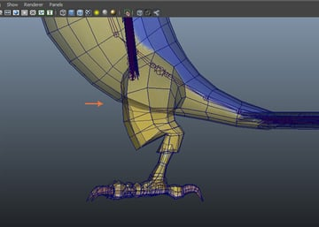 Jump in the left viewport