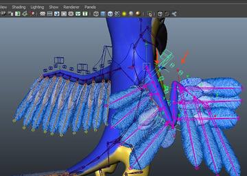 wing fold