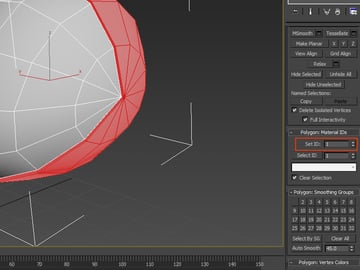 Polygon Material IDs