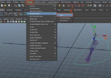Animate  Set Driven Key  Set