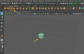 Create a cylinder