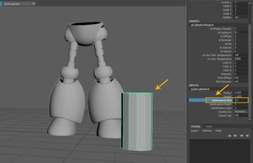 Create a Cylinder polygon