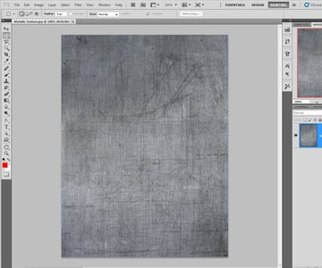 Importing the Metallic Texture in Photoshop