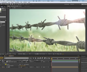 Compositing the Final Scene in After Effects