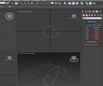 Creating Helix Shape