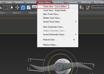 Graph Editors Track View Curve Editor