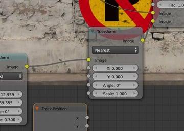 Transform node and Viewer Nodes