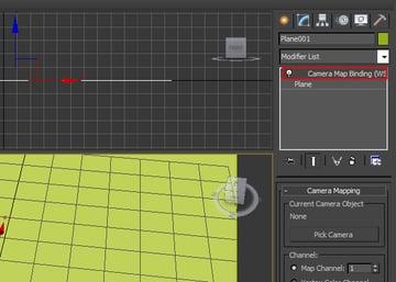 Camera Map modifier