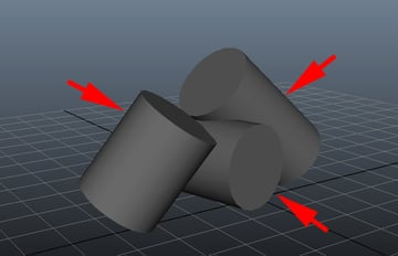 Create some cylinders