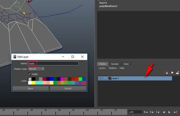 Edit Layer window
