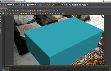 Create a box in the camera view