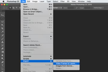 Importing layers from video file