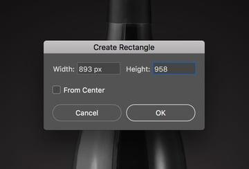 Create a new rectangle