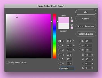 Color picker dialog