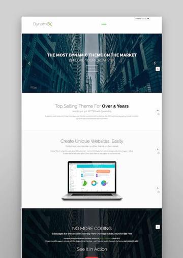 DynamiX - Business  Corporate WordPress Theme