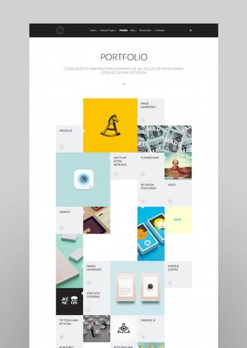 Grido Responsive and Multipurpose GridPortfolio