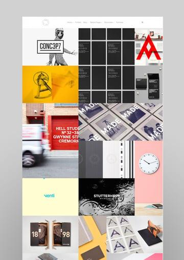 Mug Clean Creative Multipurpose GridPortfolio