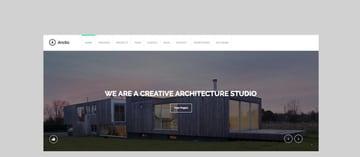 Arctic - Architecture  Creatives WordPress Theme